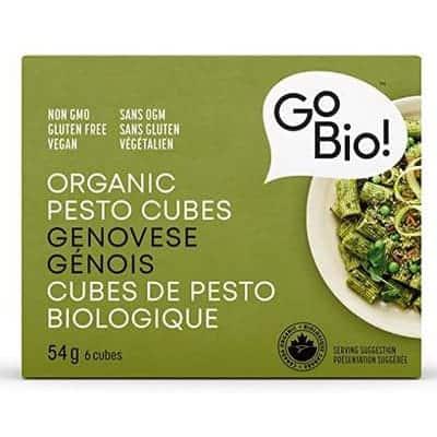 Go bio - Cubes pesto