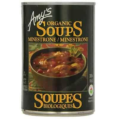amys kitchen - soupe minestrone
