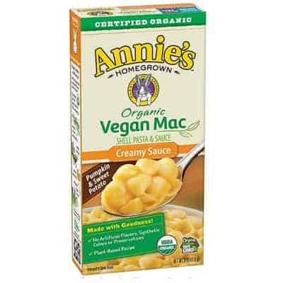 annies - mac n cheese vegan