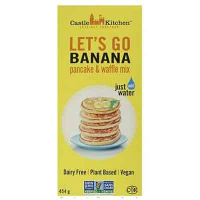 crepes veganes aux bananes