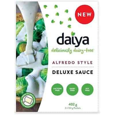 daiya - sauce alfredo vegane