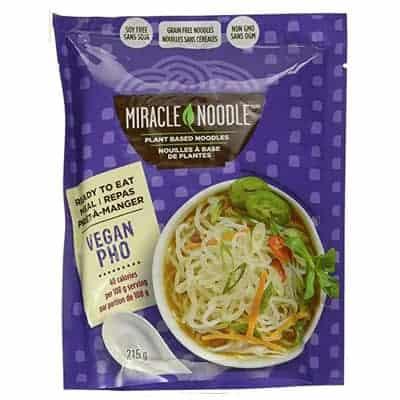 miracle noodle - Pho vegan