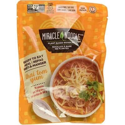 miracle noodle - tom yum vegan